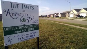 Kreston Place Residential Development Springfield, IL